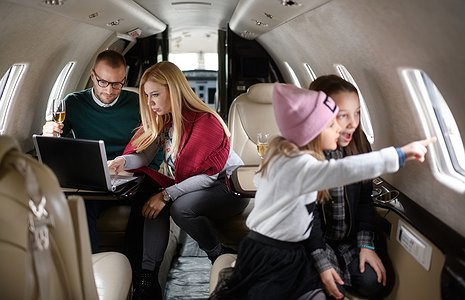 Flying private with kids is now a breeze